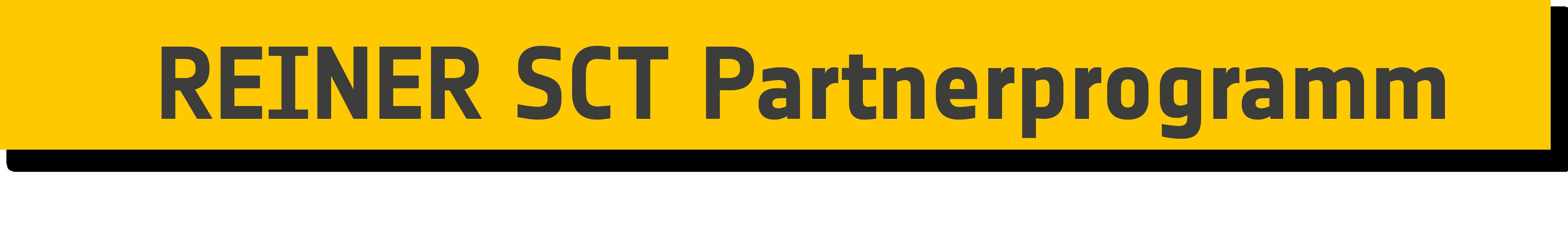 >>> REINER SCT Partnerprogramm